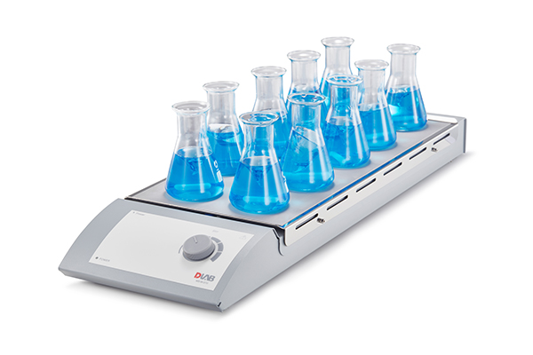 DLAB,Multi-channel (Hotplate) Magnetic Stirrer  MS-M-S10 10-Channel Euro plug