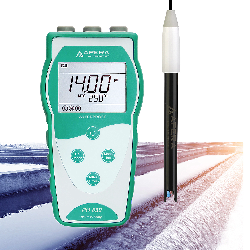 APERA, Flat pH Meter (Skin. Paper. Fabric etc.) Model  PH850-FL